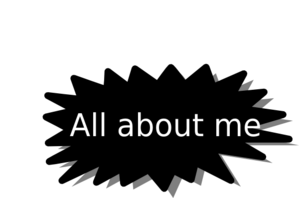 All About Me Clip Art Free.