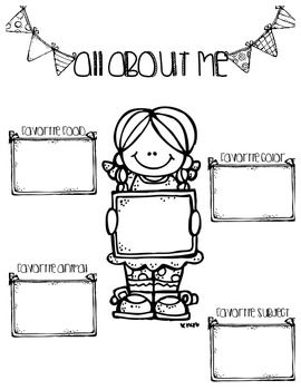 17 Best images about all about me worksheets on Pinterest.