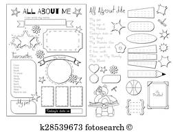 All About Me Vectors.