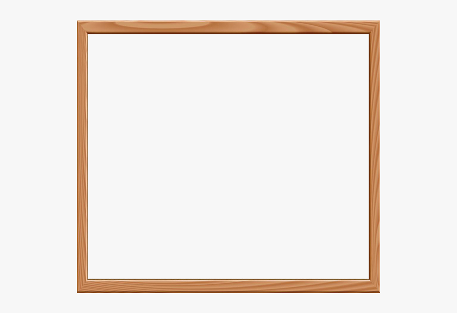 Wood Frame For All My About Me Notices.