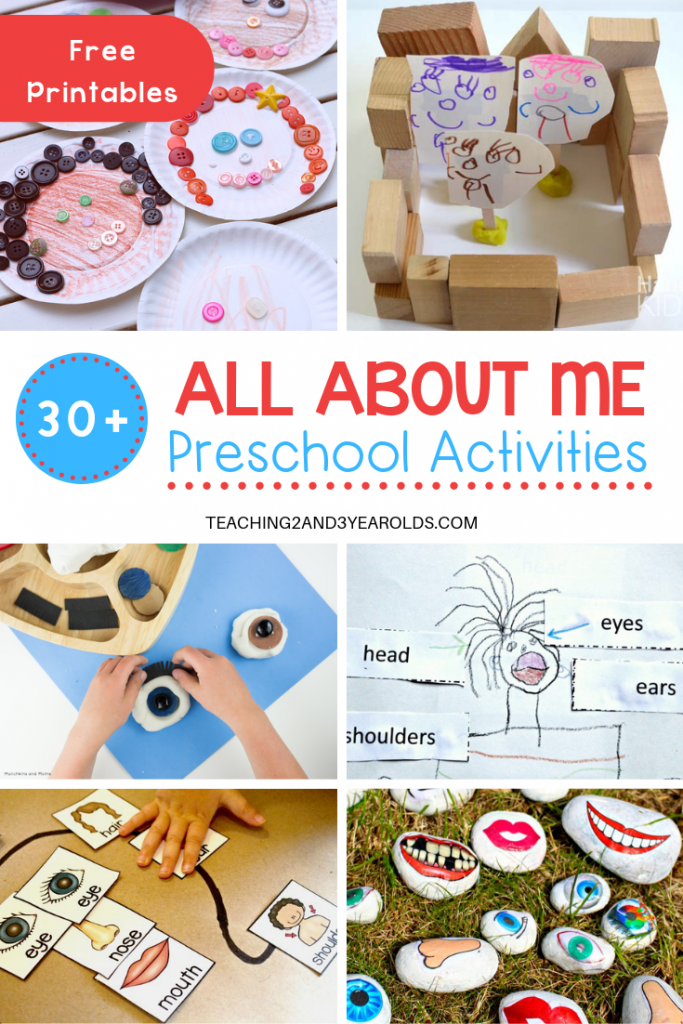 30+ All About Me Theme Activities for Preschoolers.