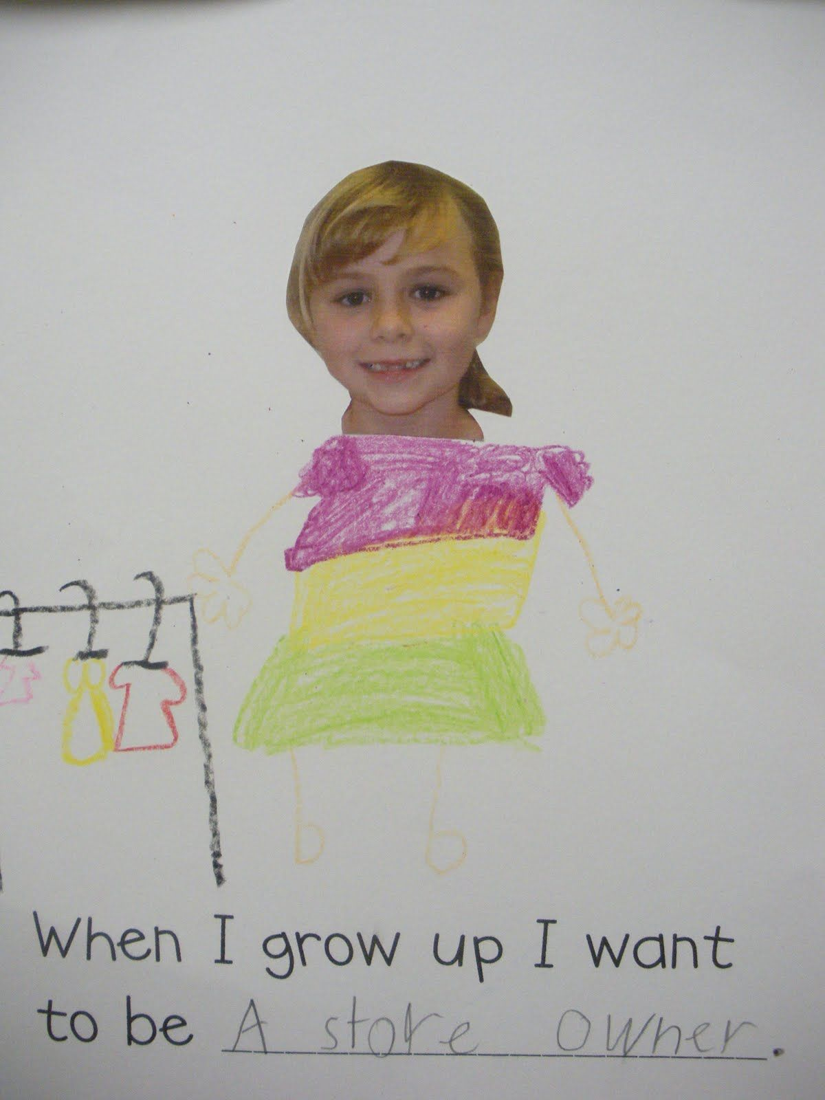 Just Add Clipart: All About Me Unit.