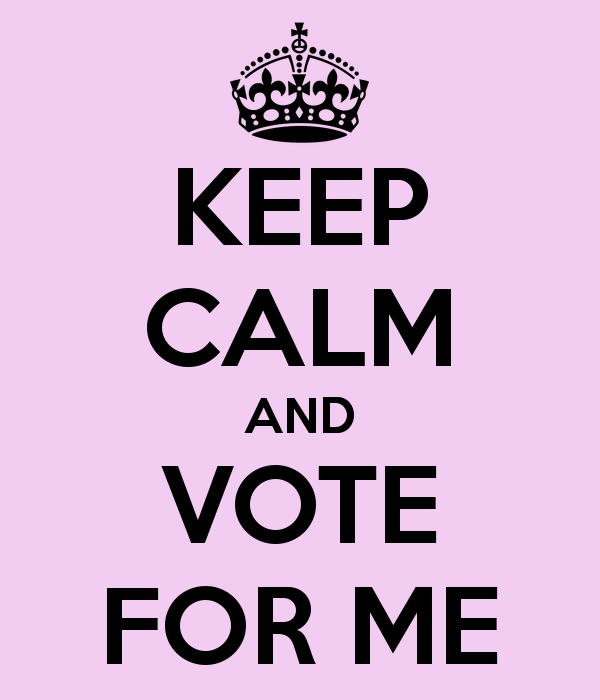 Vote For Me Posters.