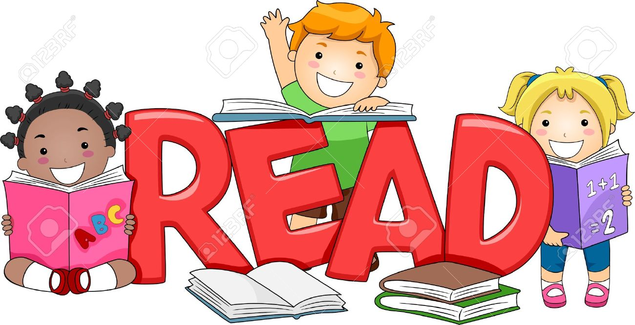 Importance Of Reading Clipart.