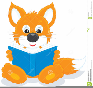 Wild About Reading Clipart.