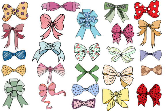 Bows clip art, BOWS CLIPART, Doodle Ribbons Clip Art Bow Tie clipart.