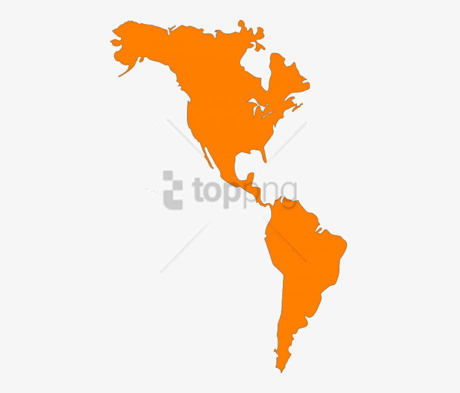 Free Png North And South America Map Png Image With.