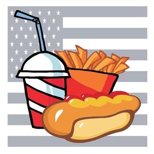 America Food Clipart.