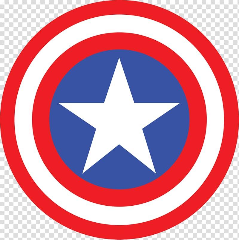 Marvel Captain American logo, Captain America\\\'s shield.