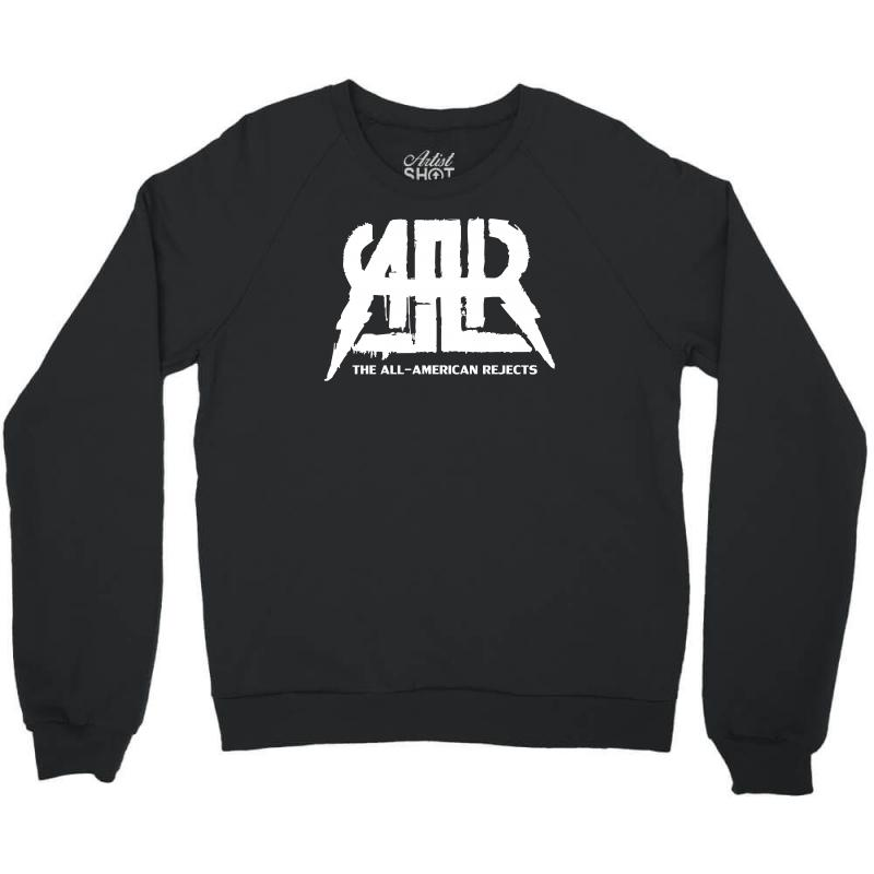 The All American Rejects Logo Crewneck Sweatshirt. By Artistshot.