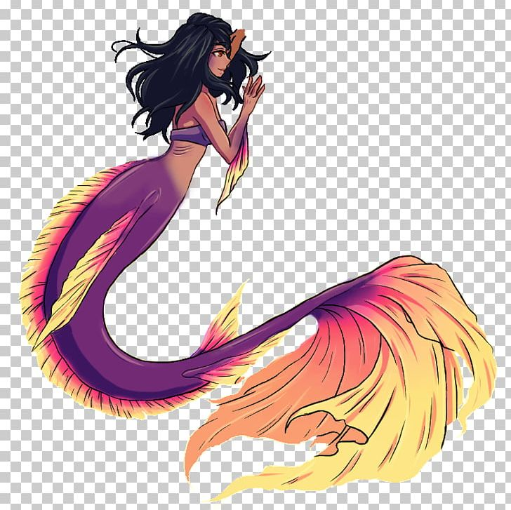 Fan Art Mermaid Aphmau Artist PNG, Clipart, Anime, Aphmau.