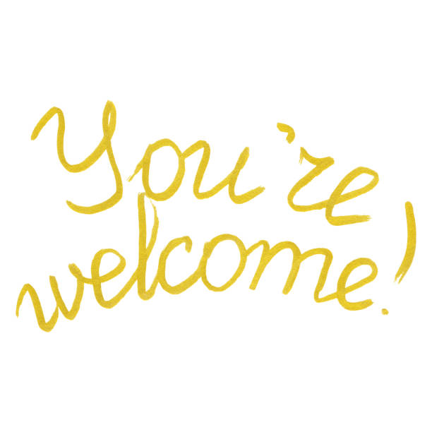 You are welcome clipart 2 » Clipart Station.