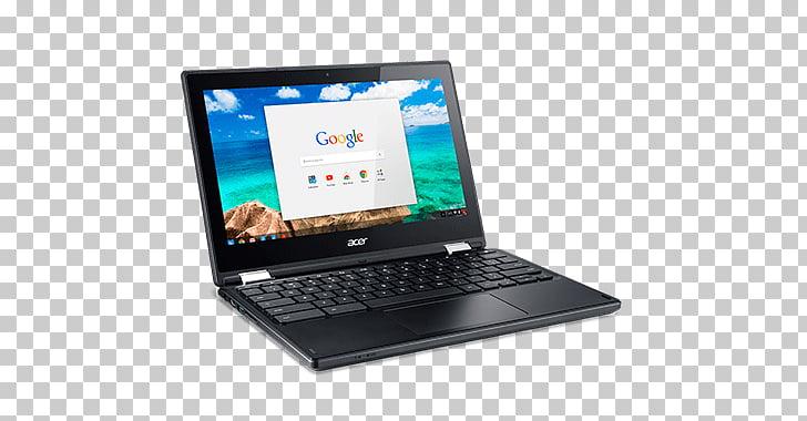 Acer Chromebook Laptop, black Acer laptop PNG clipart.