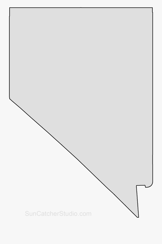 Clip Art Map Printable Shape Stencil.