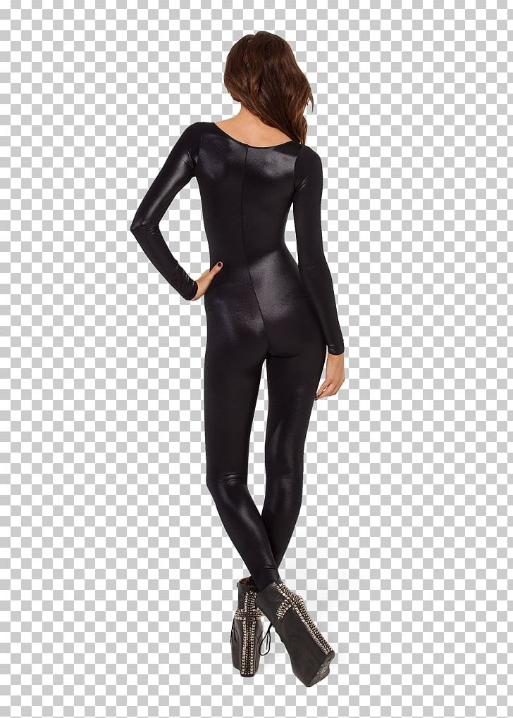 Sleeve Catsuit Wetlook Clothing Skin.