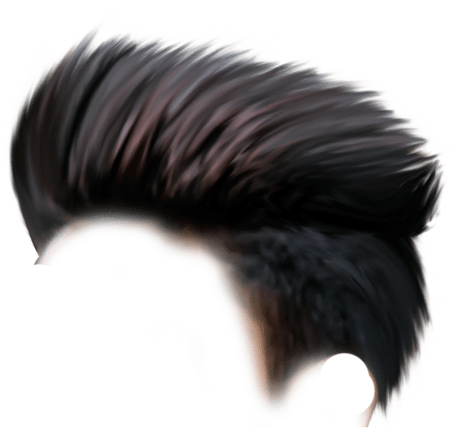 HD Colored Cb Hair Png Hd.