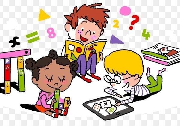 Mathematics Education Child Clip Art.