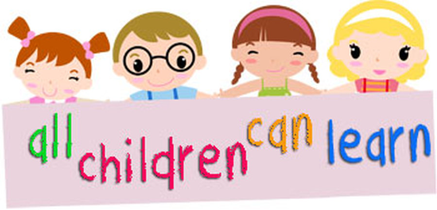 All Children Can Learn Clipart.