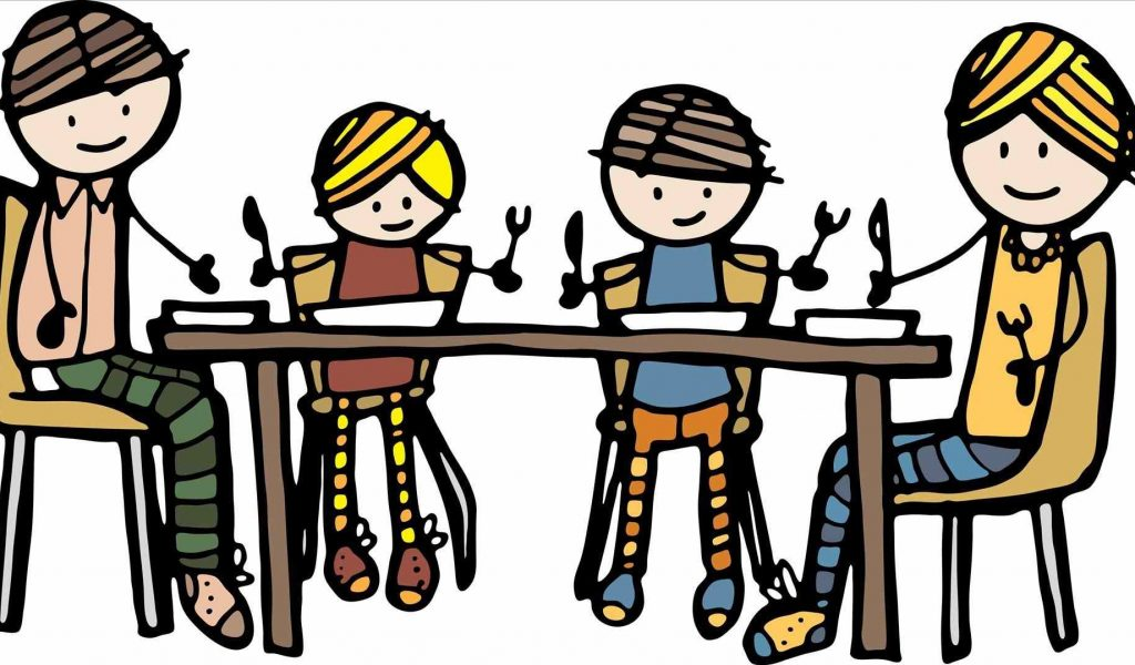 1360 Meal free clipart.