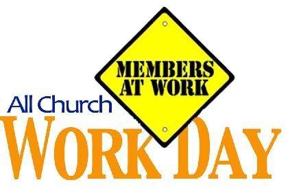 Church Work Day Clipart.