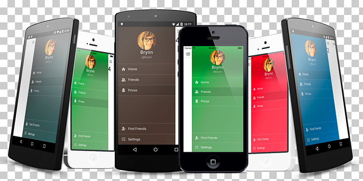 IPhone Ionic Template Mobile app development, all PNG.