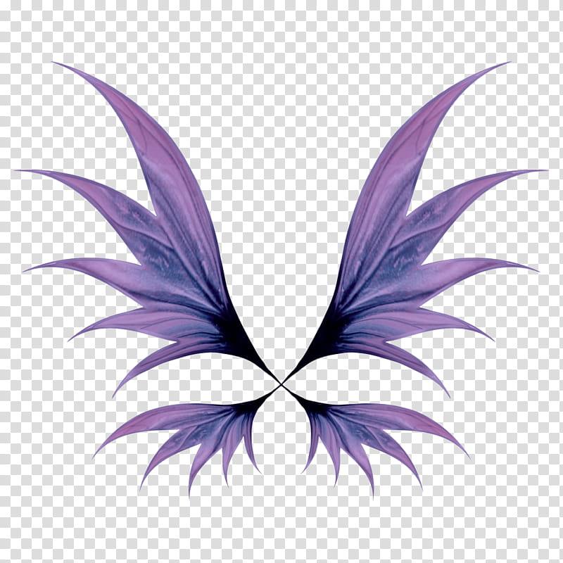 All Of A Flutter, purple wings illustration transparent.