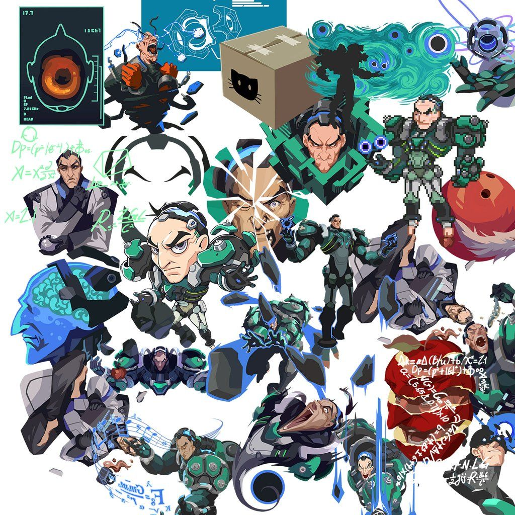 Overwatch Sigma Clipart in 2019.