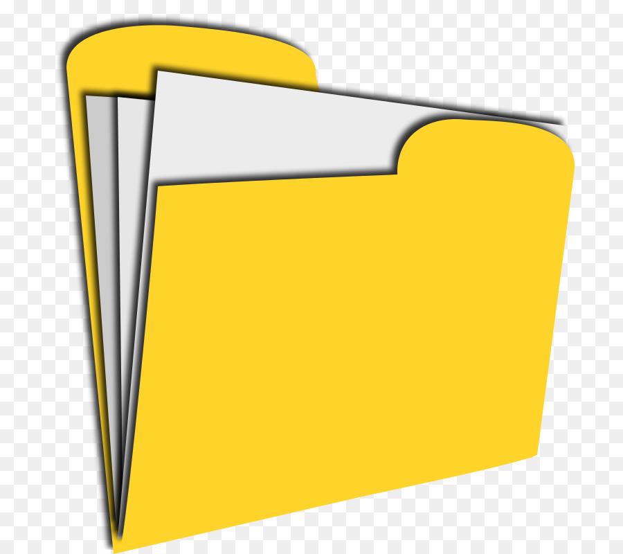 File Folder Square png download.