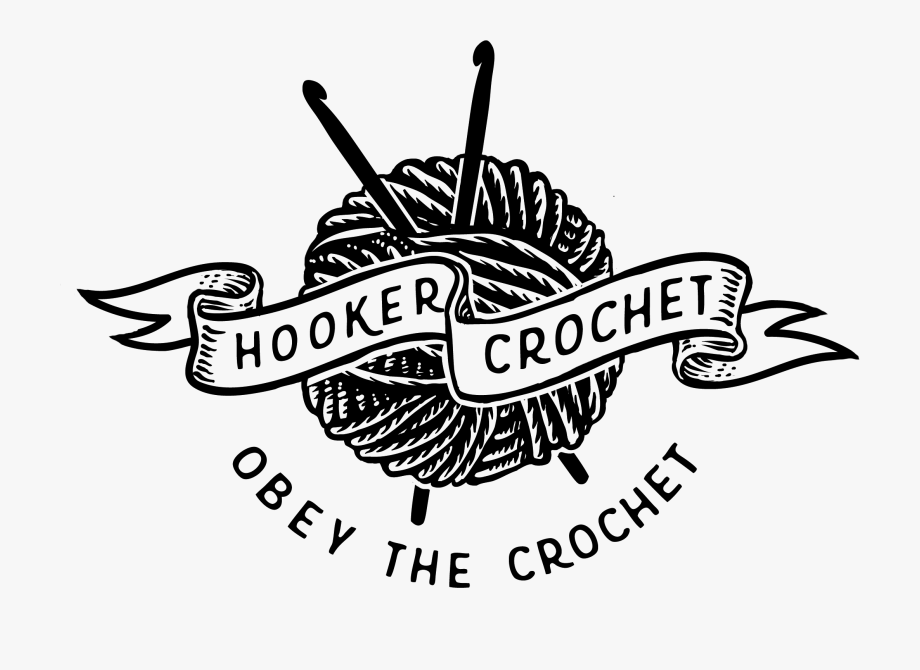 Crochet Clipart Logo.