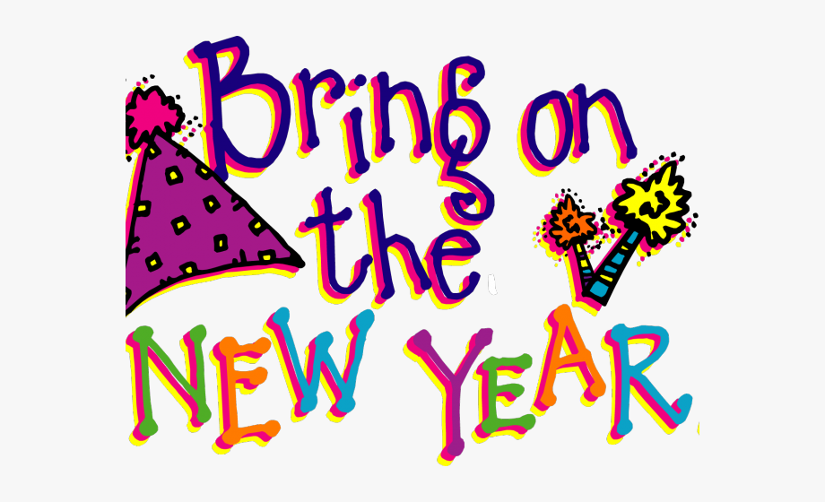 Holiday Clipart Happy New Year.