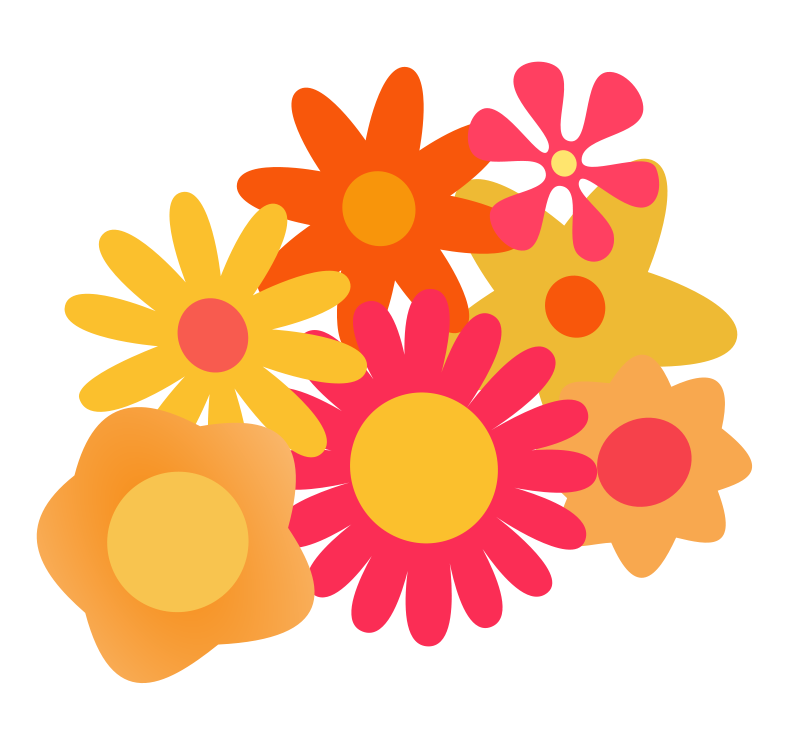 Free Clipart: Flower Cluster.