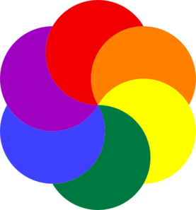 30 Colors Clipart rainbow for free download on Saurabh.