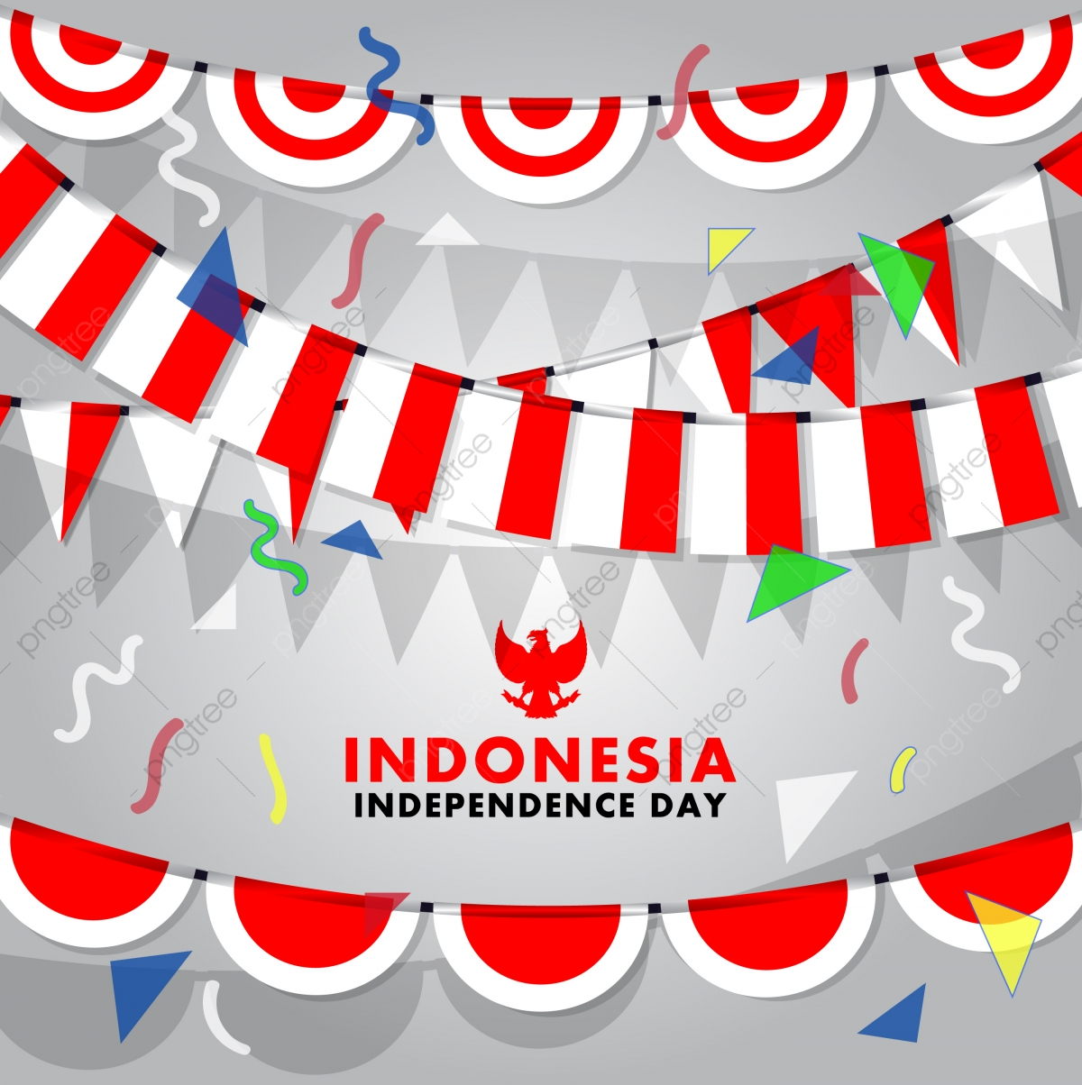 Independence Day Clipart Indonesia.