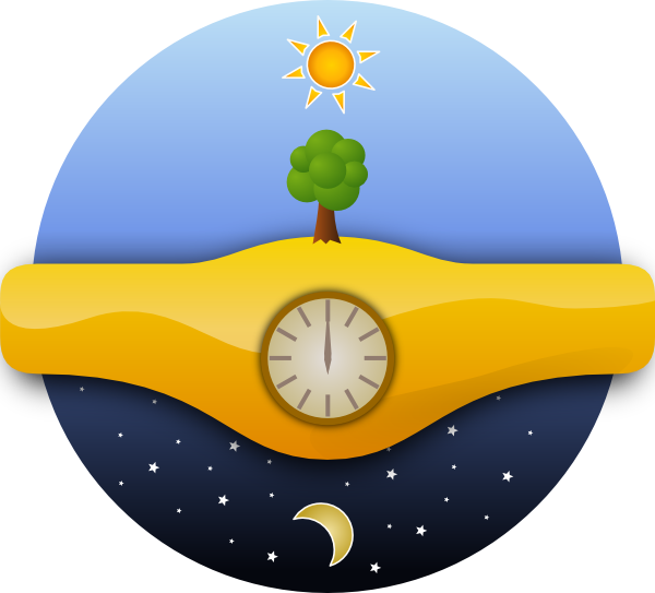 Ernes Giorno E Notte Night And Day Clip Art at Clker.com.