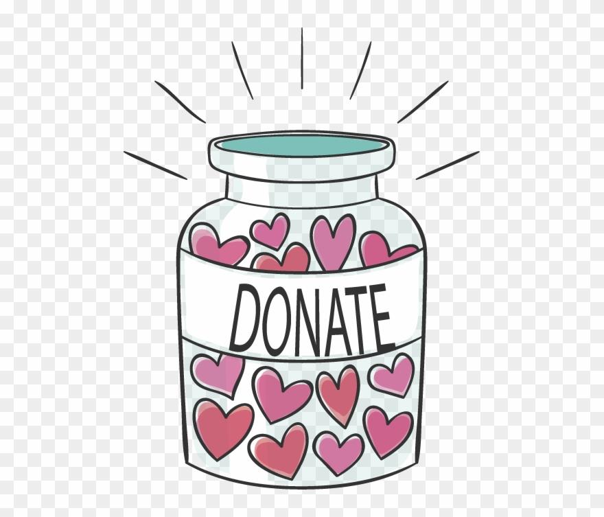 Donation Jar.