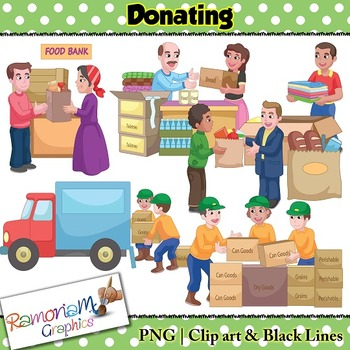 Donations Clip art.