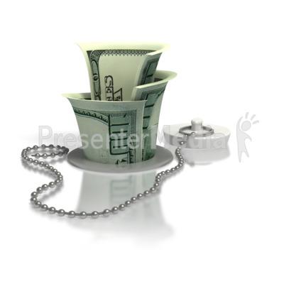 Money Down The Drain.