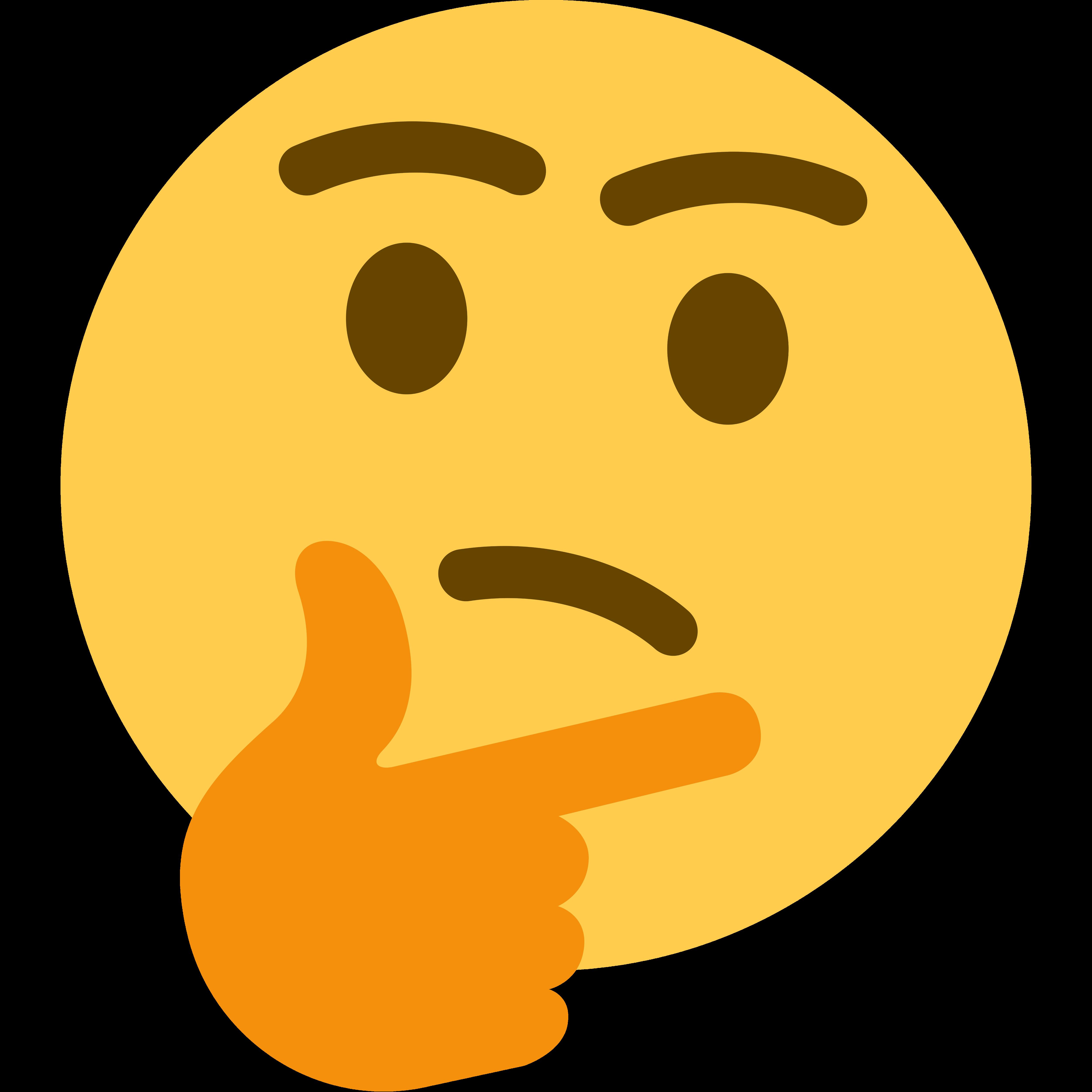 Emoji Thought Clip art.