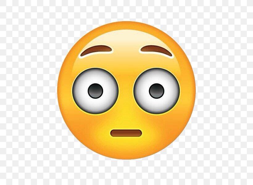 Smiley Sticker Emoji Surprised Round Mouse Pad Women\'s.