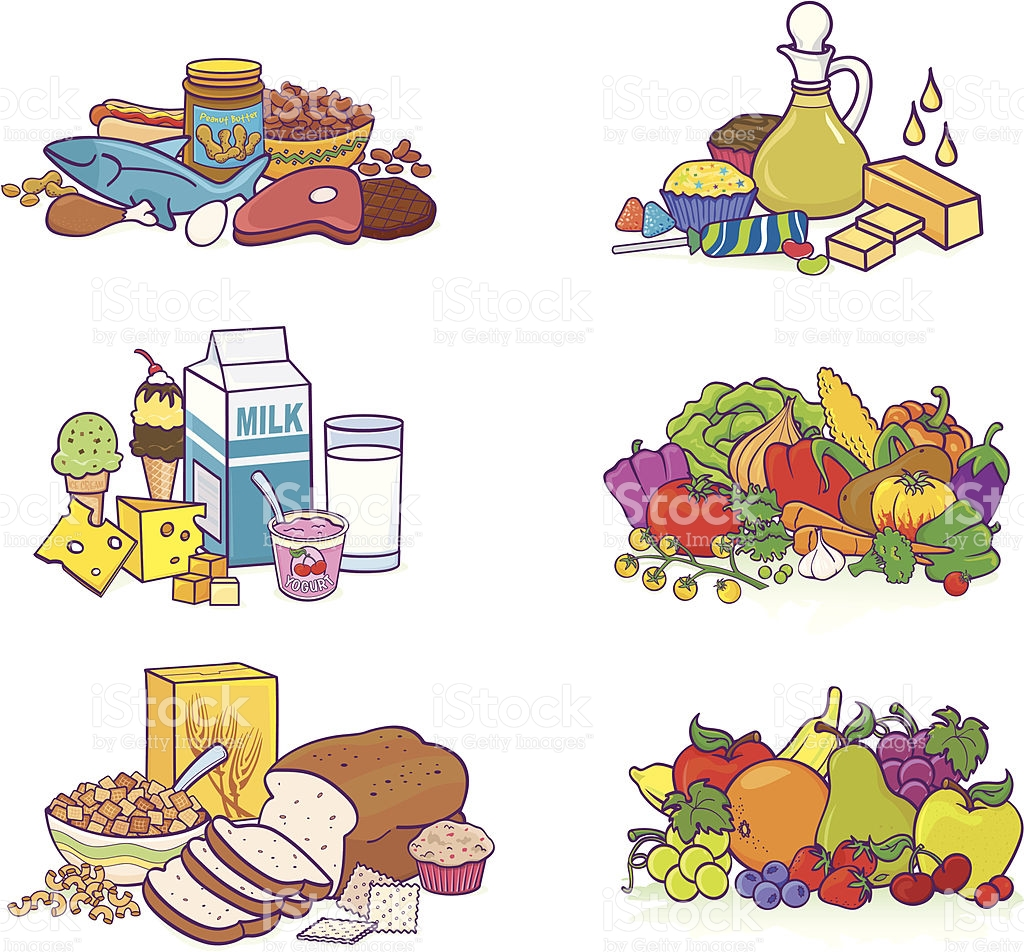 Food Group Clipart.