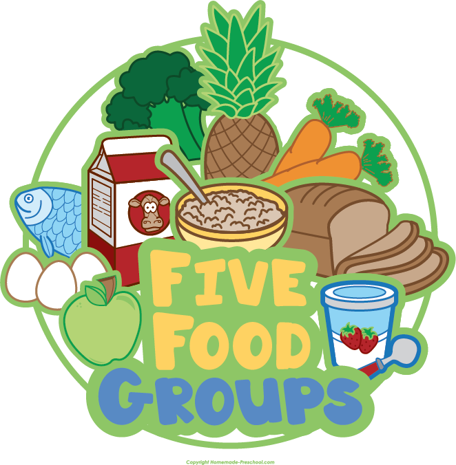Food Groups Clipart.