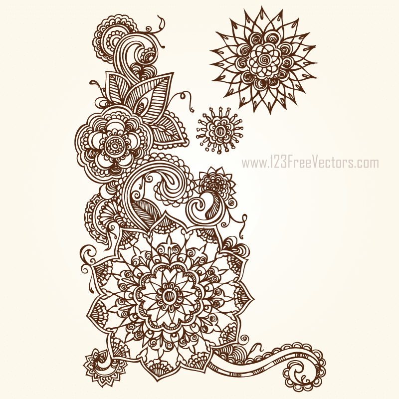 Floral Vector Eps Free Download.
