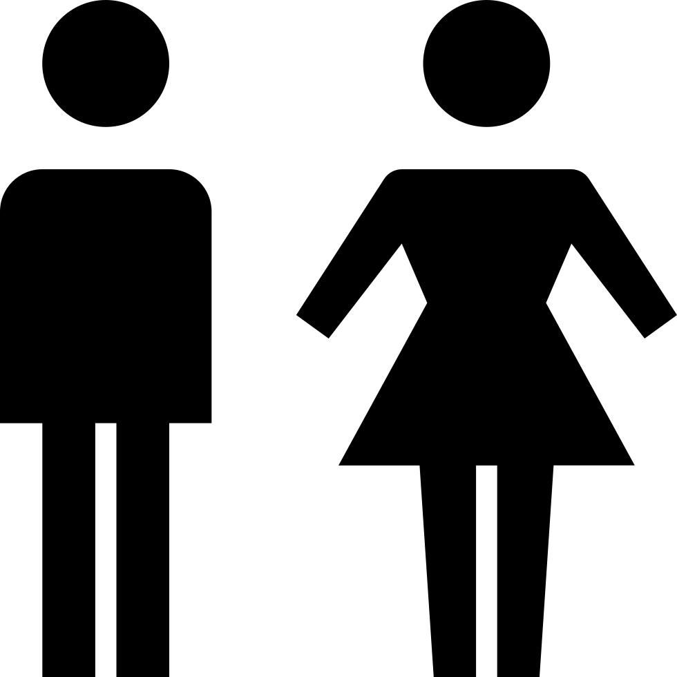 Clipart bathroom gender role, Clipart bathroom gender role.