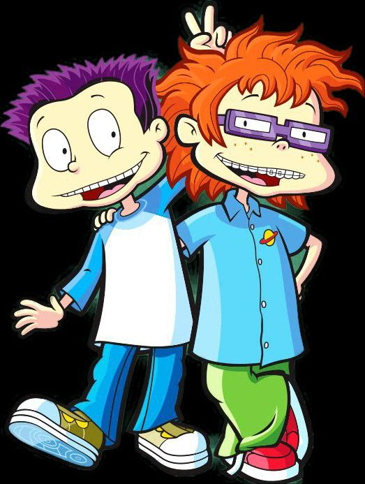 All Grown Up Tommy and Chuckie in 2019.