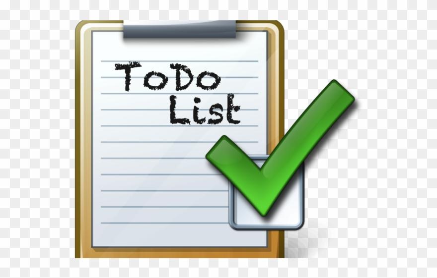 Check Clipart Todo List.