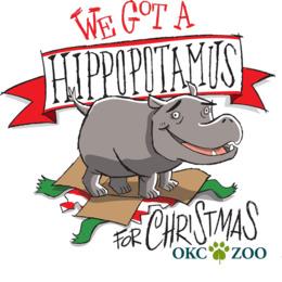 I Want A Hippopotamus For Christmas clipart.