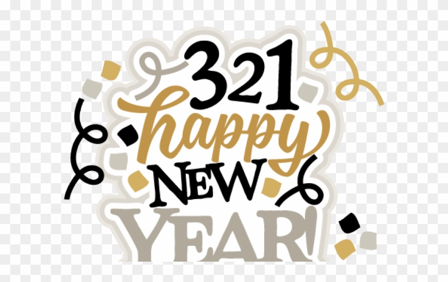Happy New Year Clipart File.
