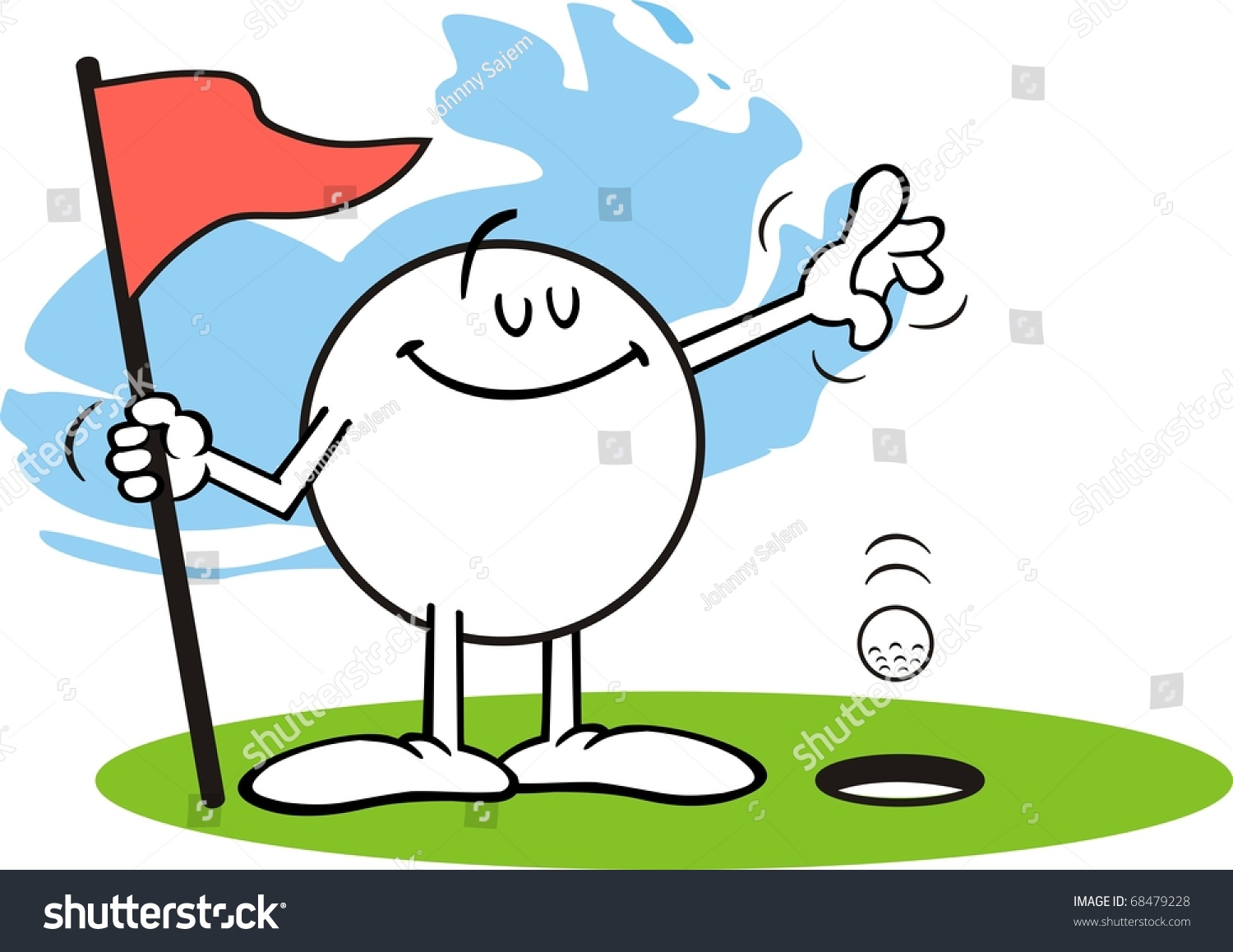 Hole in one clipart 6 » Clipart Station.