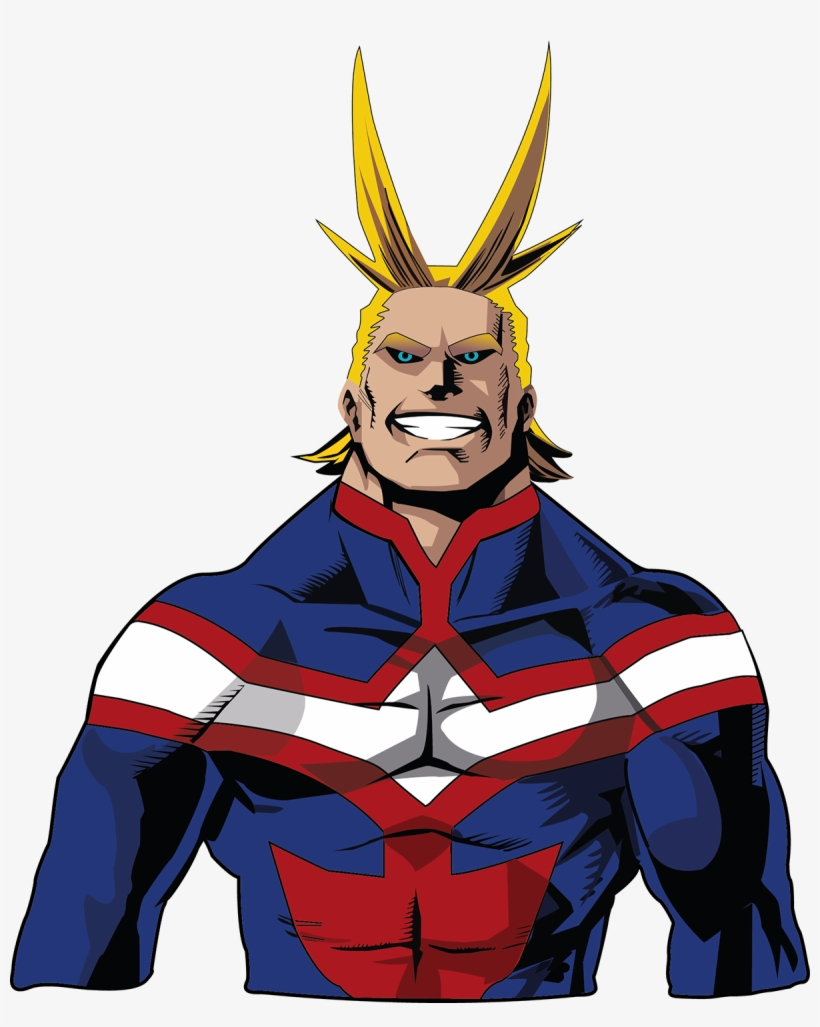 All Might Red Png Transparent PNG.