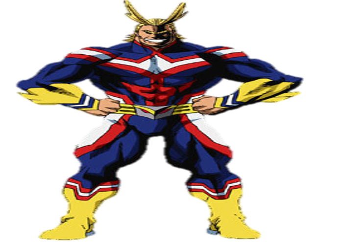 All Might Png Vector, Clipart, PSD.